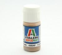 Italeri vernice acrilica - Flat Light Brown