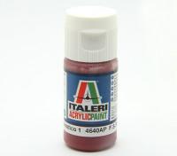Italeri vernice acrilica - piatto Marrone Mimetico 1
