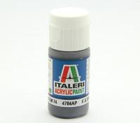 Italeri vernice acrilica - Graugrün RLM74