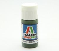Italeri vernice acrilica - piatto russo Armatura Verde