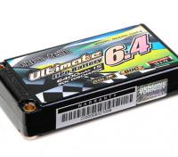 Turnigy nano-tech ultima 6400mAh 1S2P 90C Hardcase Pack (ROAR e BRCA approvato)