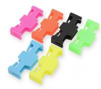 Blocco Servo di sicurezza Estensione Neon colori (6pcs)