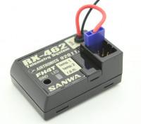 Sanwa / Airtronics RX-462 2.4GHz FHSS-4T Super Response 4CH telemetria Ricevitore