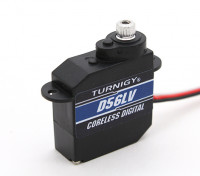 Turnigy ™ TGY-D56LV Coreless bassa tensione DS / MG Servo 0.89kg / 0.10sec / 5.6g