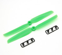 Gemfan Elica 6x3 verde (CW / CCW) (2 pezzi)