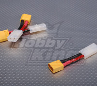 Female Tamiya <-> Male XT60 (3pcs / bag)