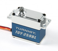 Turnigy ™ TGY-259BL Brushless High Torque DS Servo w / involucro in lega di 16kg / 0.09sec / 70g