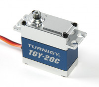 Turnigy ™ TGY-20C High Torque DS / MG Servo w / involucro in lega di 40kg / 0.18sec / 78g