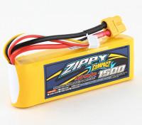 ZIPPY Compact 1500mAh 3S 40C Lipo Confezione