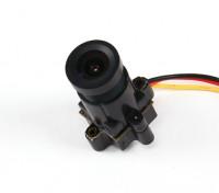 Mini CMOS FPV Camera 520TVL 120deg campo visivo 0.008Lux 14 x 14 x 29 millimetri (NTSC)