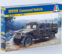 Italeri 1/35 Scale Kit US M998 Command Vehicle plastica Modello