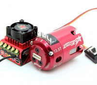 Trackstar ROAR approvato 1 / 10th categoria Stock Brushless ESC e motore Combo (13.5T)