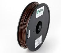 Filament stampante ESUN 3D Brown 3 millimetri ABS 0.5KG Spool