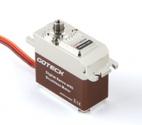 Goteck HB2621S HV Digital Brushless MG metallo Cased High Torque Servo 19kg / 0.07sec / 77g