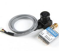 Aomway Mini 200mW VTX e FPV Tuned 600TVL fotocamera Combo (PAL)