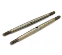 Trackstar 1/8 molla in acciaio Turnbuckle M4x75 (2 pezzi)