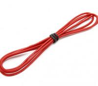 Turnigy alta qualità 20AWG silicone Filo 1m (Red)