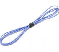 Turnigy alta qualità 24AWG silicone Filo 1m (Blu)