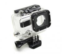 Skeleton Custodia di protezione con lente per GoPro Hero 3