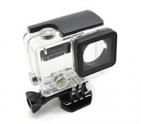 Skeleton Custodia di protezione con lente per GoPro Hero 3 più