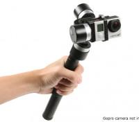 Z-1 Pround 3-Axis Handheld stabilizzazione del giunto cardanico per GoPro