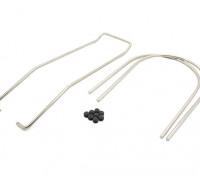 SR4 SR5 - Tail mensola Axle & Balance Rod