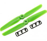 Gemfan 6030 GRP / nylon Eliche CW / CCW Set (verde) 6 x 3