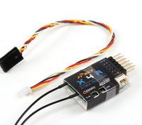 FrSky X4RA 3 / 16CH 2.4Ghz ACCST ricevitore w / S.BUS, intelligente Port & telemetria (2015 versione EU)