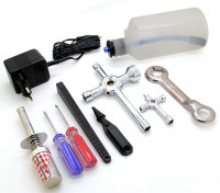 Turnigy Nitro Engine Starter Pack con Tool Set (1/10-1/8)