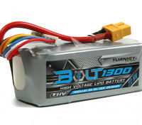 Turnigy Bolt 1300mAh 22.8V 6S 65 ~ 130C High Voltage Lipoly Pack (LiHV)