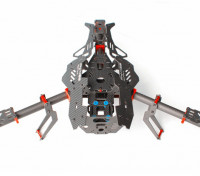 Mosquito Y400 400 millimetri 3-Axis Fiber Tricopter Frame (Y6 CONFIG)