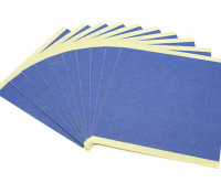 Turnigy Mini Fabrikator stampante 3D v1.0 Ricambi - Blue Print Bed carta (10pcs)
