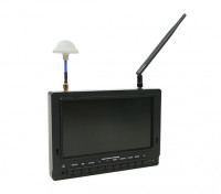 7 pollici 800 x 480 40CH Diversity Receiver Sun Readable FPV Monitor FieldView 777SB (AU Warehouse)