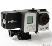 Feiyu Tech WGS Lite asse singolo Wearable giunto cardanico per GoPro Hero 3 / 3plus / 4 o simile Size