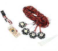 Sistema Quanum Quadcopter di navigazione LED