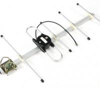 Scherrer Portata del sistema a lungo 433Mhz Yagi Antenna