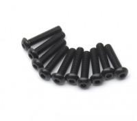 pezzi di metallo rotonda Machine Head Vite Esagonale M2.5x12-10 / set