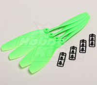 GWS Stile Slowfly Elica 8x4.5 Verde (CW) (4 pezzi)