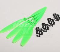 GWS Stile Slowfly dell'elica 10x4.5 Verde (CW) (4 pezzi)