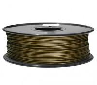 Dipartimento Funzione 3D filamento stampante 1,75 millimetri di metallo composito 0.5kg spool (Ottone)