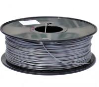 Dipartimento Funzione 3D filamento stampante 1,75 millimetri PLA 1KG spool (Silver Metallic)