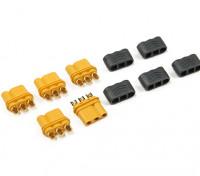 solo MR30-2.0mm 3pins connettore-femmina (5 set per sacchetto)