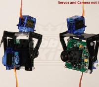 FPV vetroresina Pan-Tilt Monte fotocamera L-Size