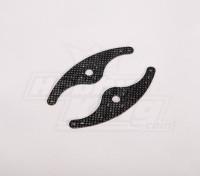 Carbon Fiber braccio del servo 110 millimetri (2pcs / bag)