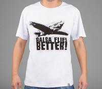 Dipartimento Funzione Abbigliamento Balsa Flies Camicia di cotone Better (XXL)