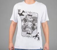 Dipartimento Funzione Abbigliamento Re di carte camicia di cotone (Large)
