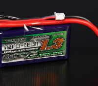 Turnigy nano-tech 1300mah 3S 25 ~ 50C Lipo Confezione