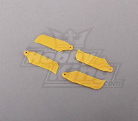 450 Dimensioni Heli Yellow Tail Blade (2pairs)