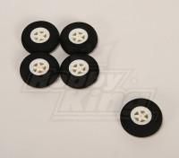 Rotella leggera schiuma (diametro: 40, Larghezza: 11mm) (5pcs / bag)