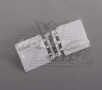 Servo Mount / Protezioni Bianco (1set / bag) 64 millimetri x 67 millimetri